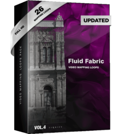 Fluid Fabrics Video Mapping Loops pack