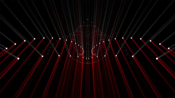 red lines vj loop HD