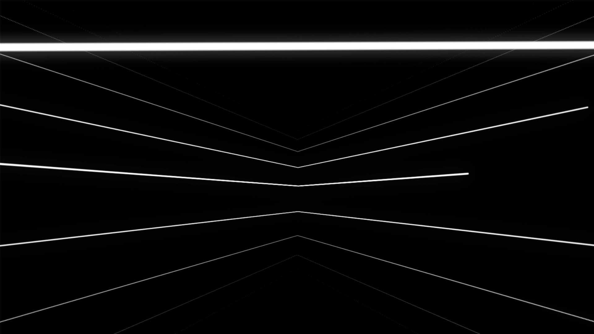 White lines video loop