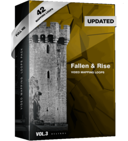 Fallen & Rise VIdeo Mapping Loops Pack