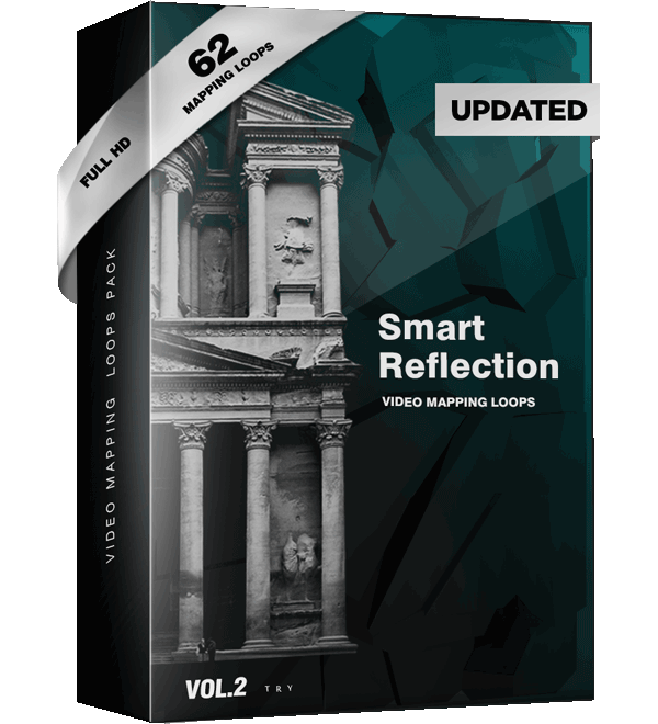 Smart Reflection Video Mapping Loop
