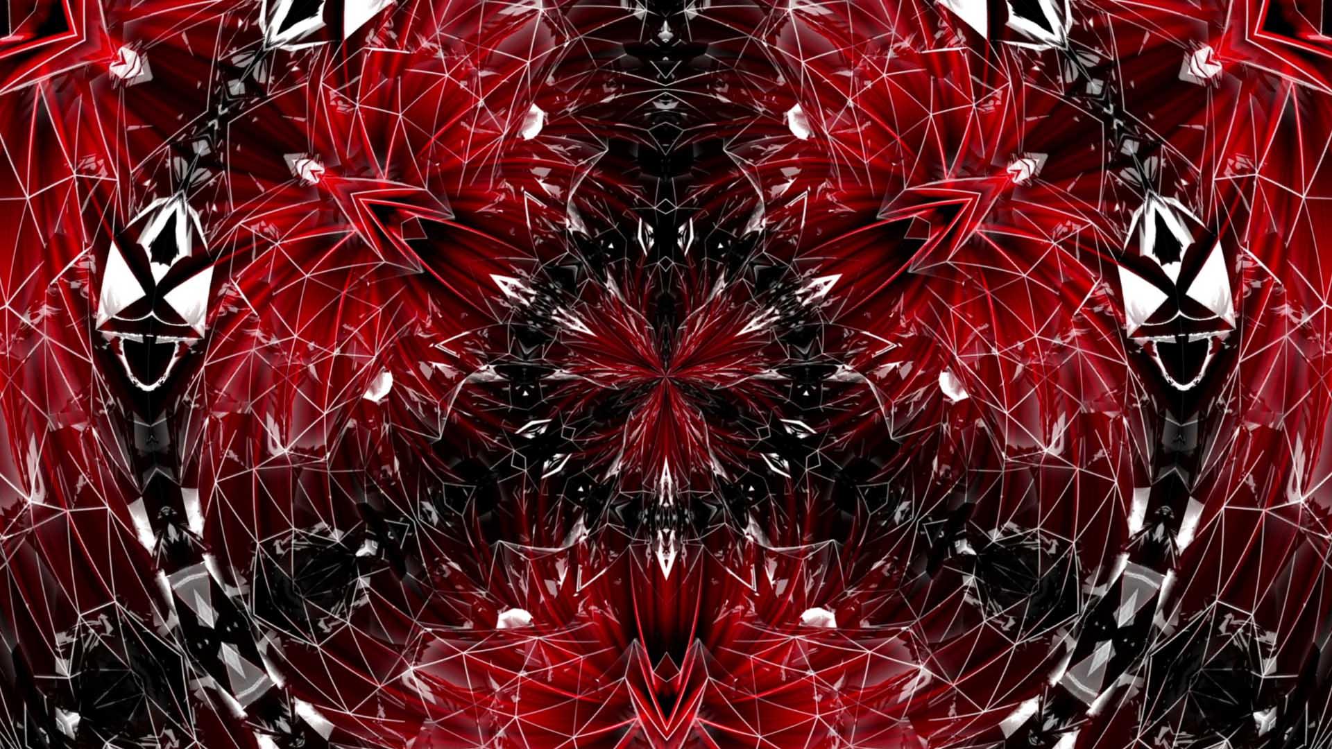 Red_Geometric_Pattern_Vj_Loop_Video_Background_HD