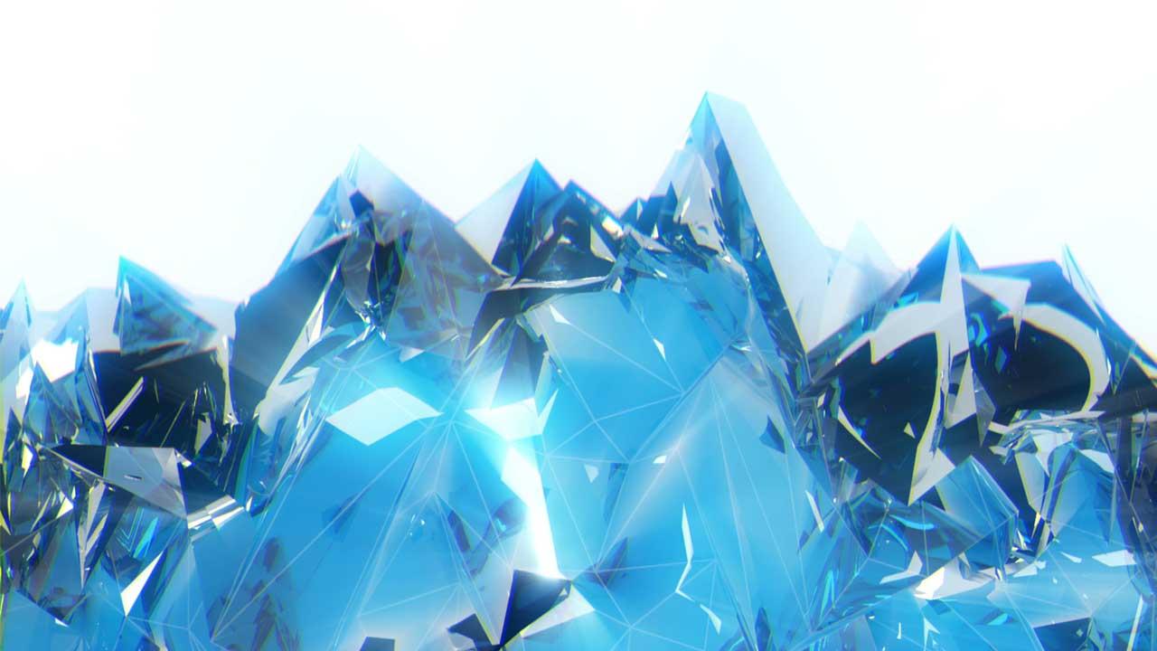Polygonal_Ice_Fire_Wings_Video_Art_Vj_Loop