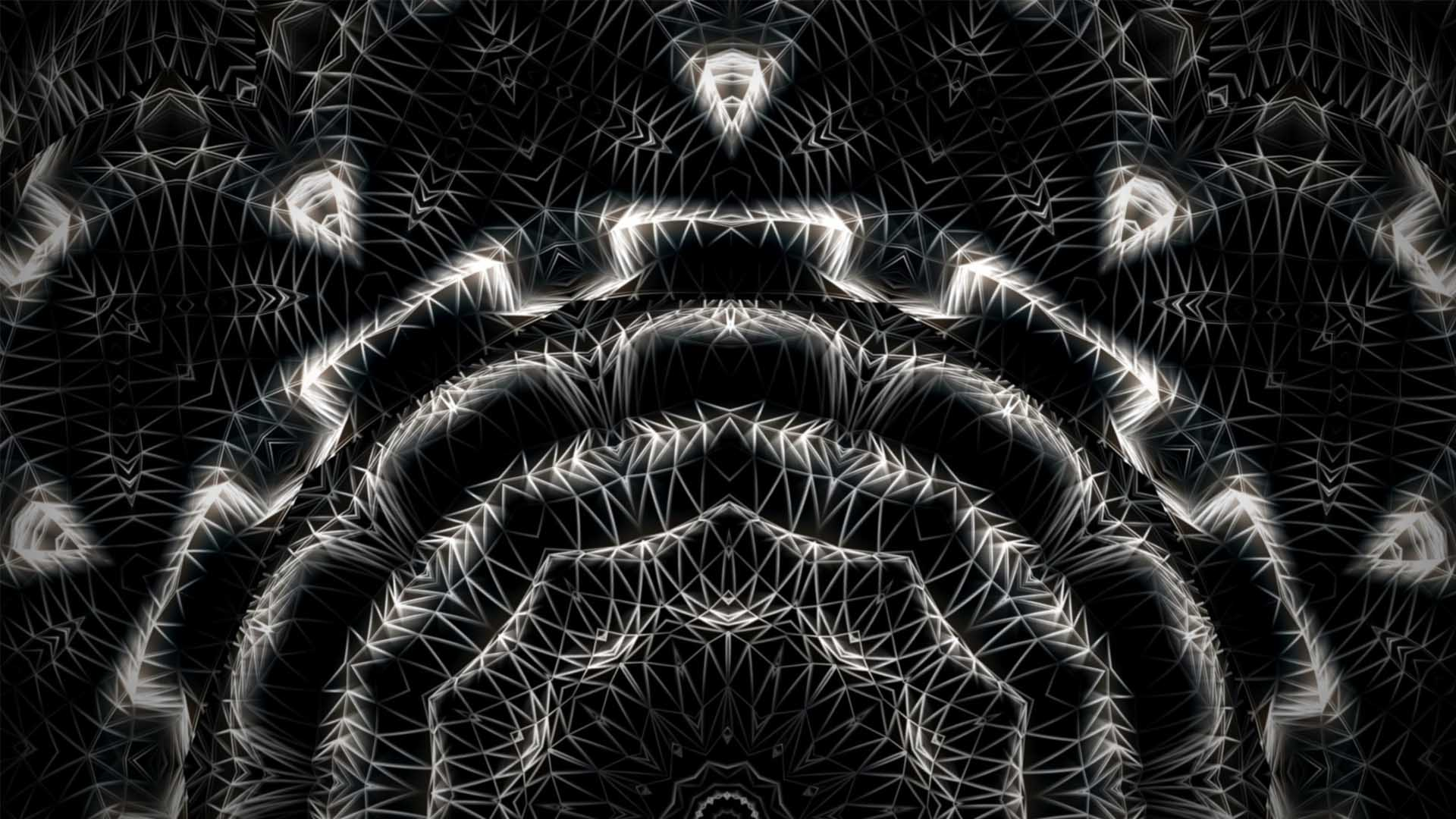 wireframe background vj loop