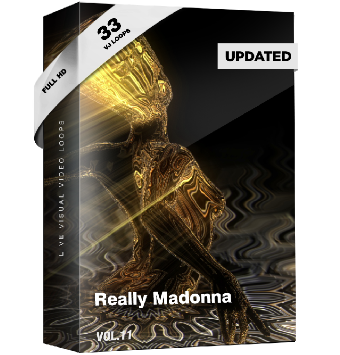 Really Madonna Vj Loops Pack