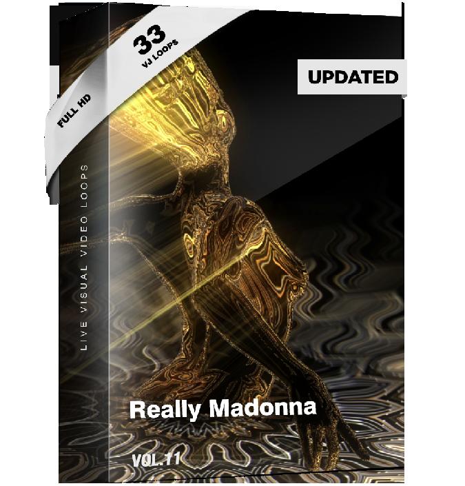 Really Madonna Vj Loops Pack