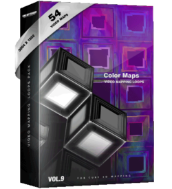 Color-maps Video Mapping Loops
