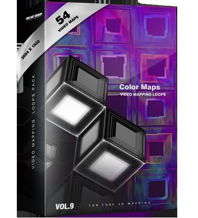 Color maps vj loops