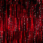 Video Loops, Red color vj loops abstract 1