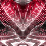 Video Loops, Red color vj loops abstract 13