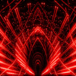 Video Loops, Red color vj loops abstract 5