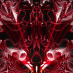 Video Loops, Red color vj loops abstract 6