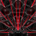 Video Loops, Red color vj loops abstract 8