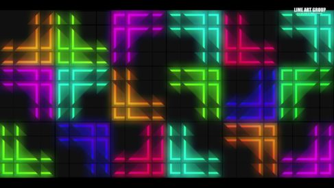 video loops cube mapping