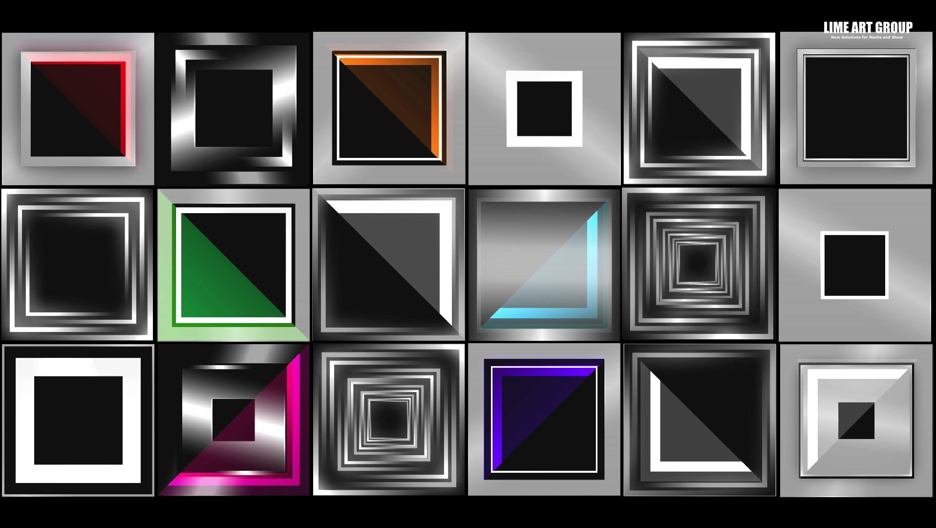 video loops cube mapping vj 12