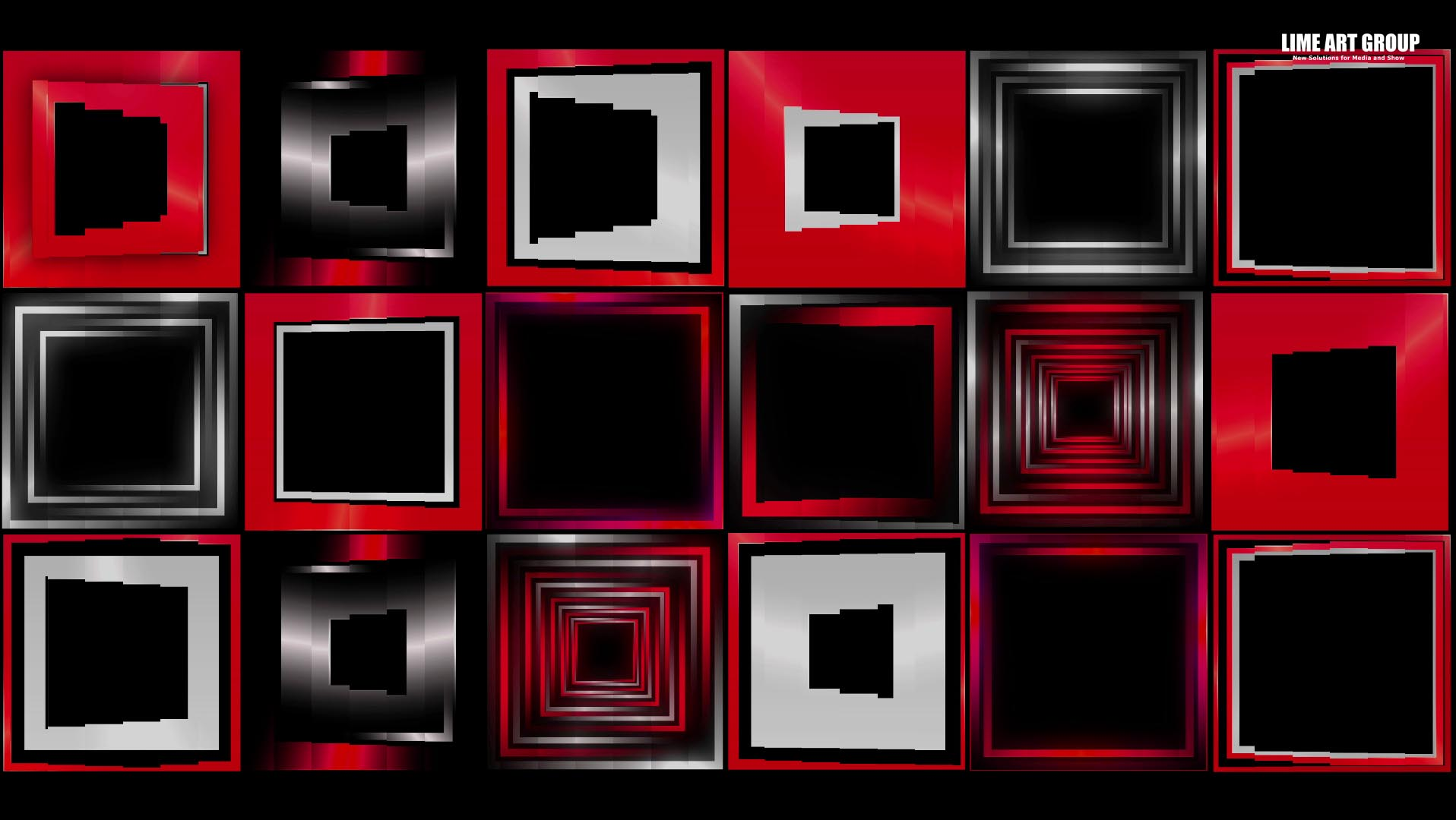 video loops cube mapping vj 13