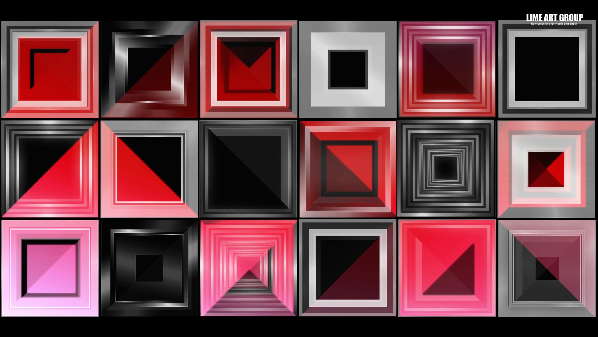 video loops cube mapping vj 14