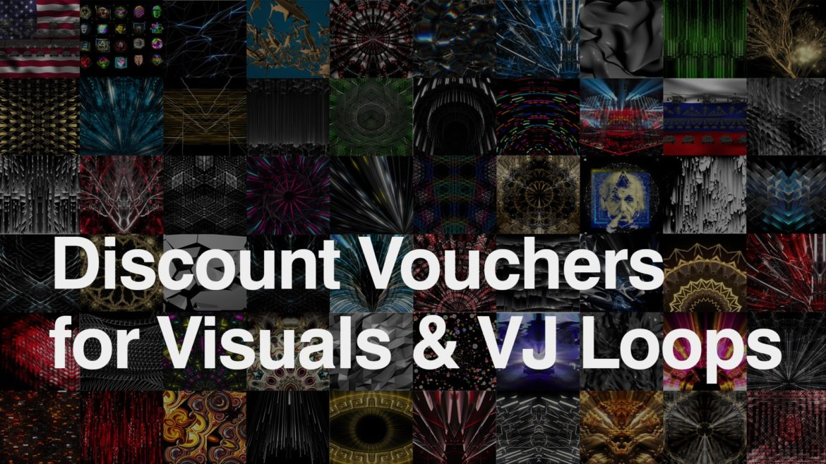 Discount Vouchers for VJ Loops