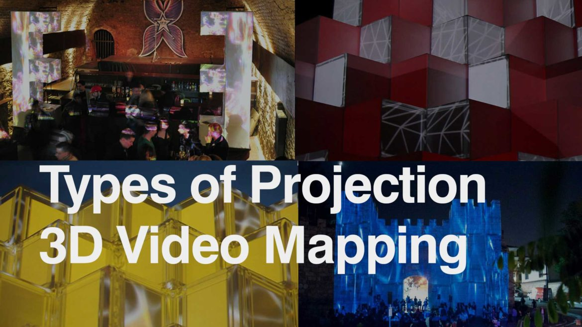 Projection mapping types