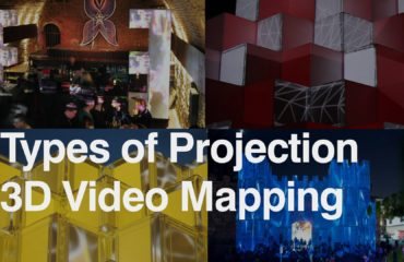 Types of Projection Video Mapping