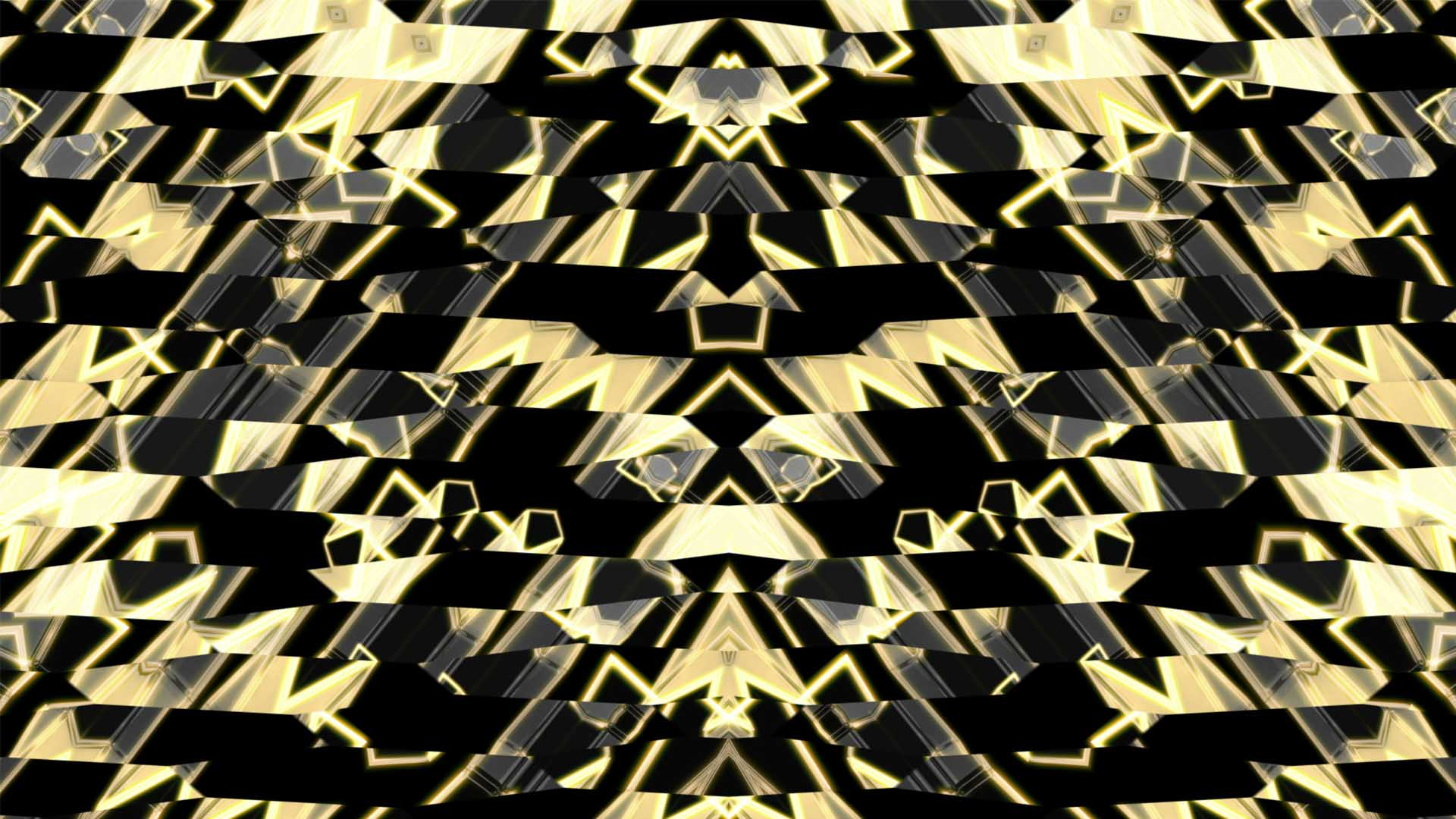 golden pattern motion background