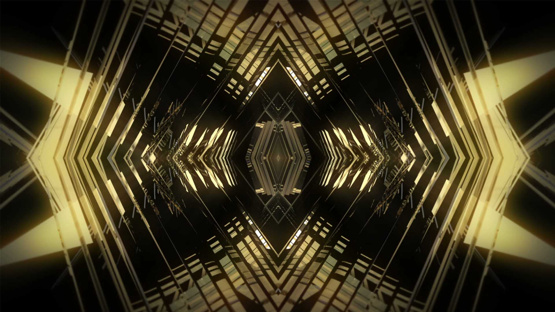 Golden_Pattern_Video_background_HD_VJ_Loop