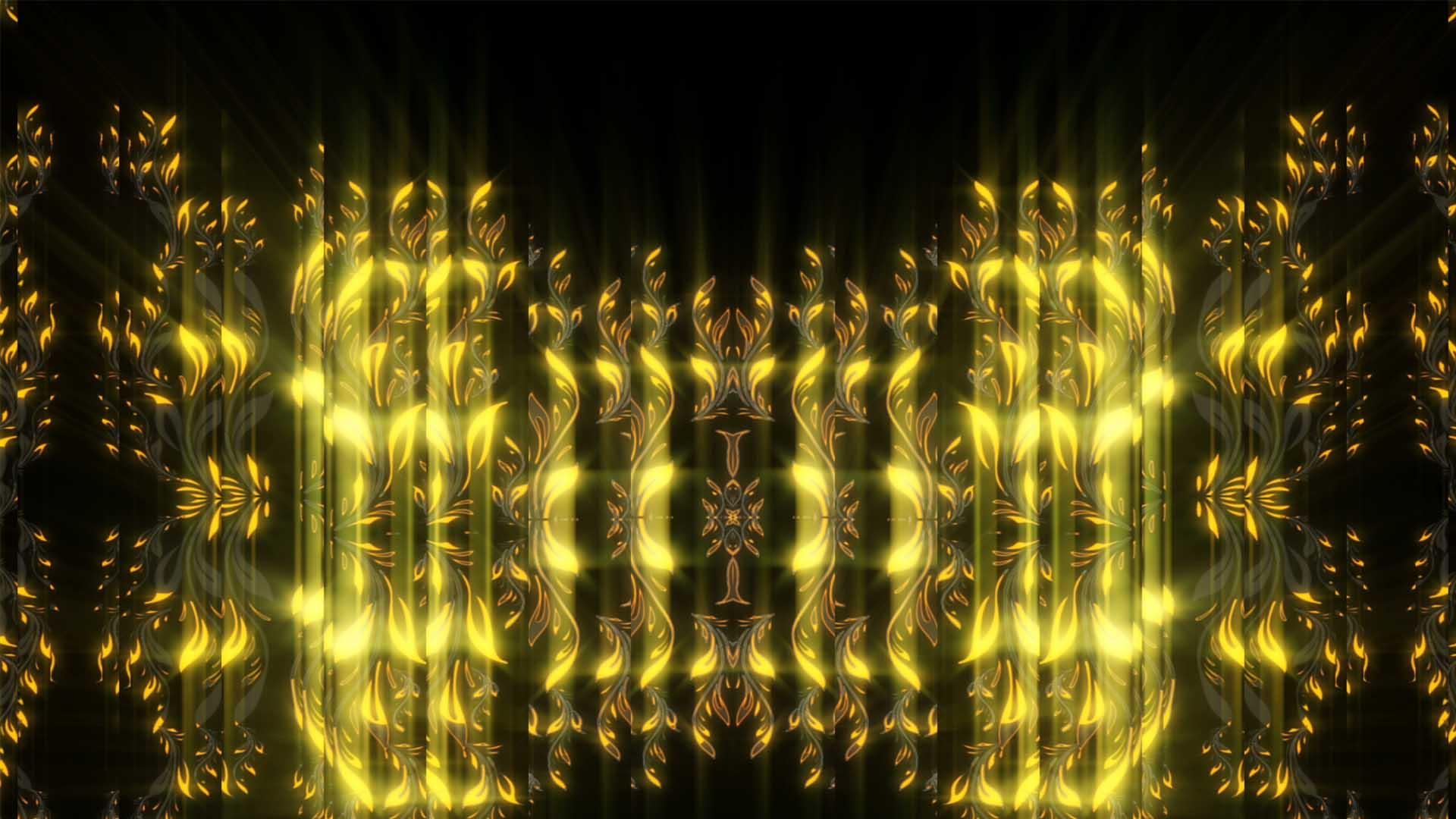 Golden_Pattern_Video_background_HD_VJ_Loop