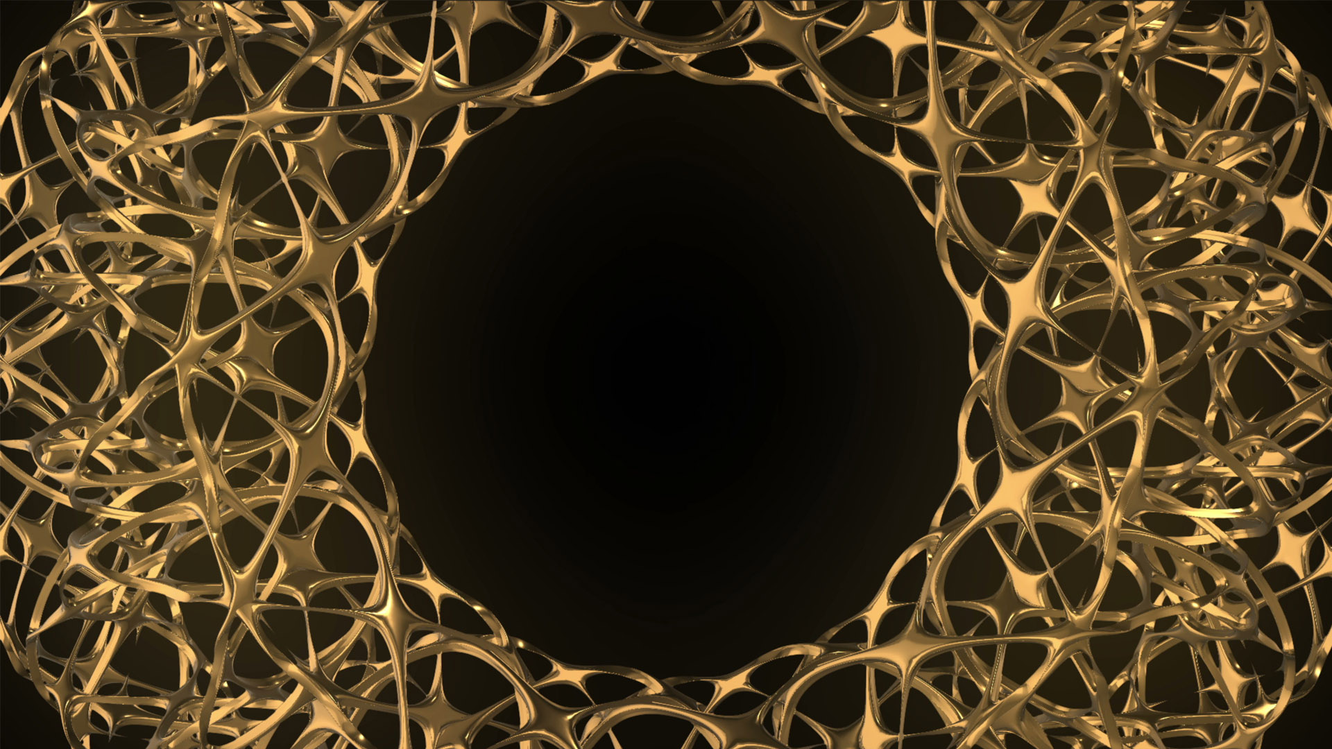 gold abstract motion background