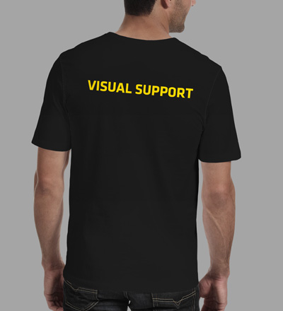 Visual Support - VJ T-shirt