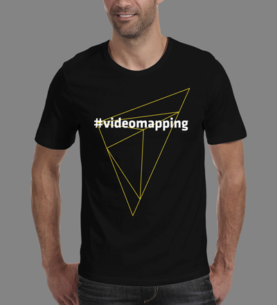 #videomapping - VJ T-shirt