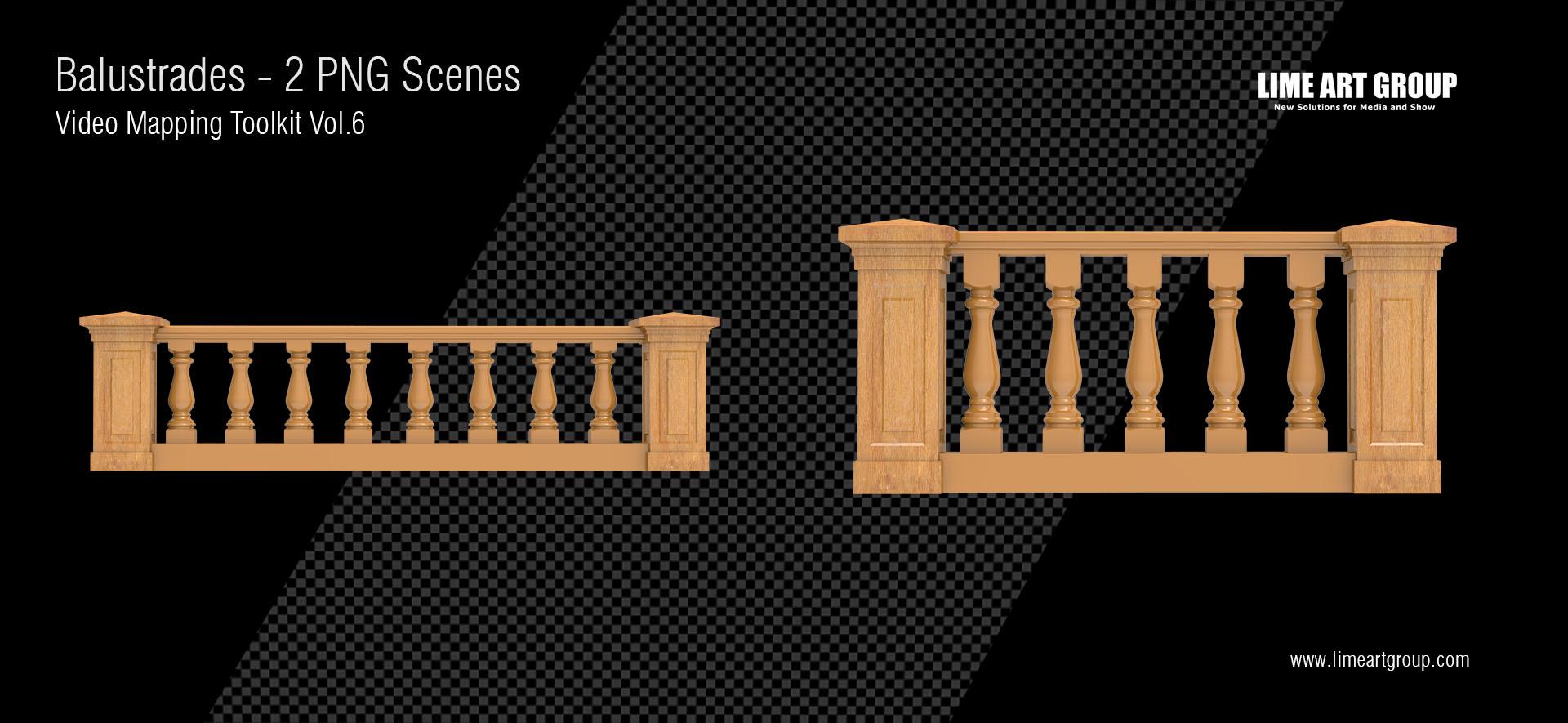 balustrade acrhitecture video