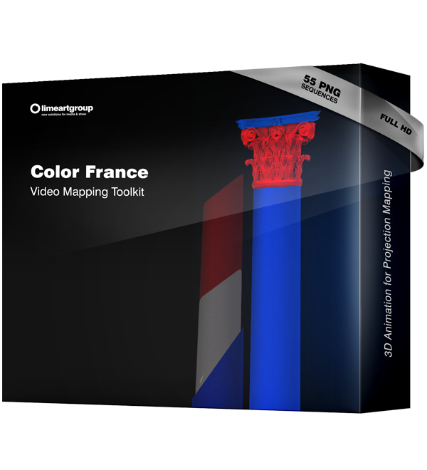 Color France video mapping toolkit