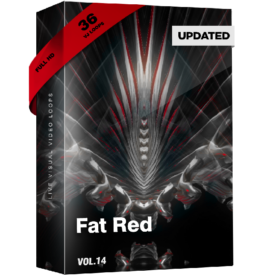 Fat Red Vj Loops Pack Video