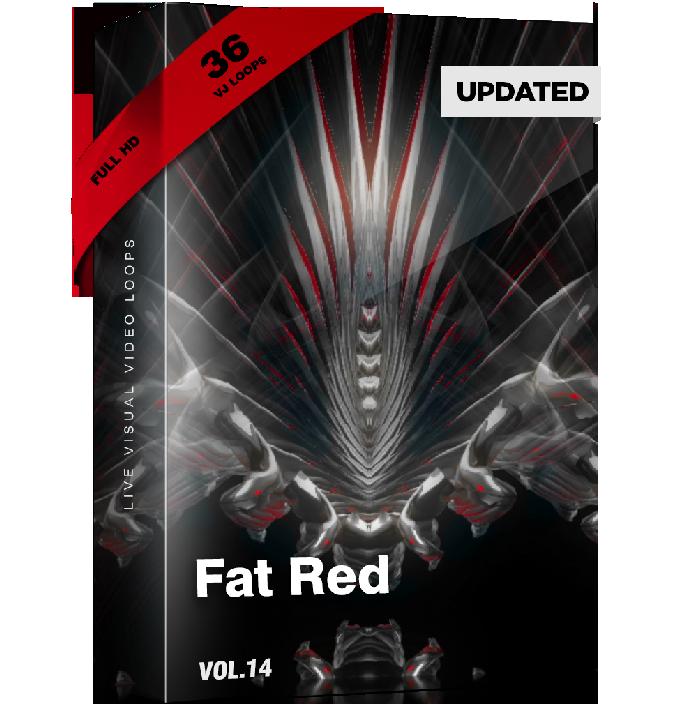 Fat Red Vj Loops Pack Video