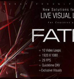 Fatred vj loops abstract