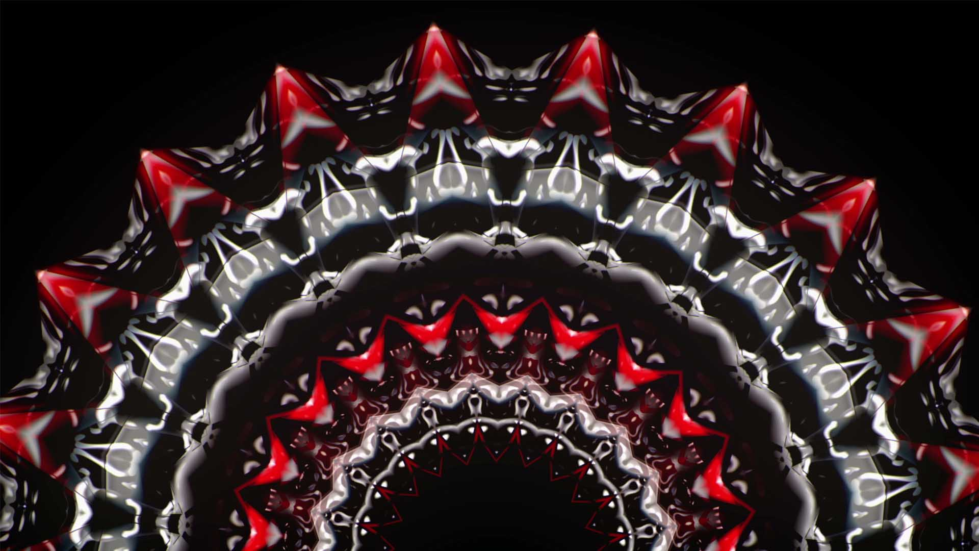 HEARTBEAT__Red_Motion_Background_Geometric_Low_poly_vj_loop