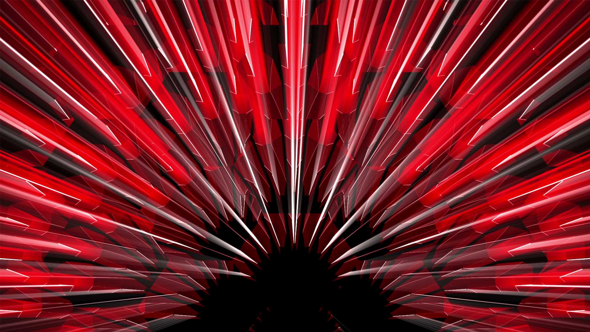 red video background