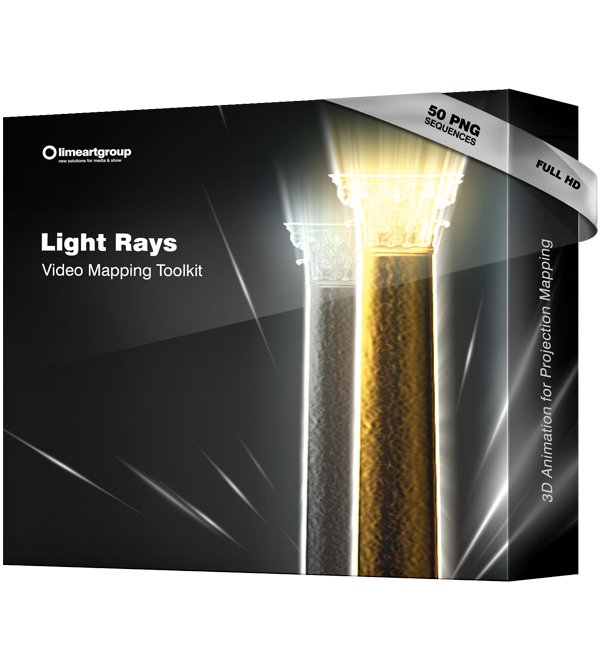 Light Rays video mapping toolkit