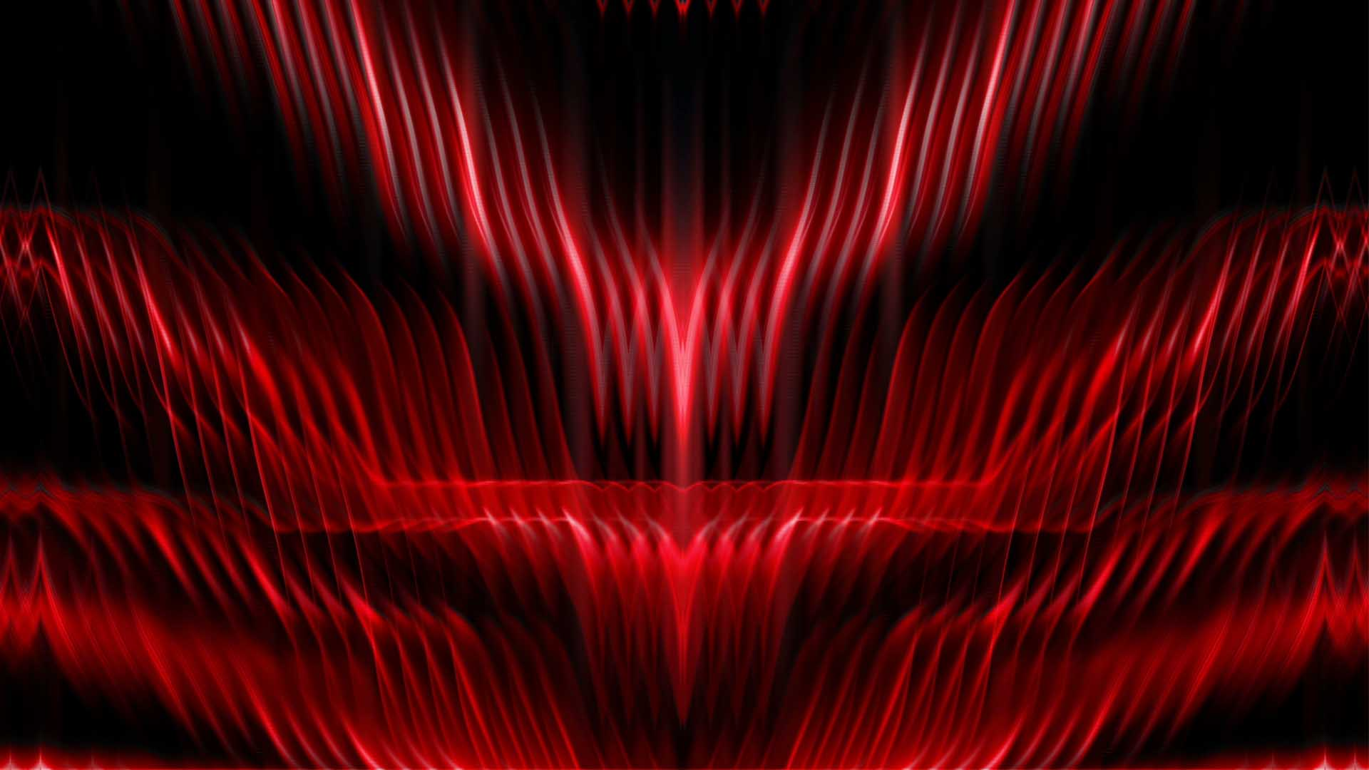 red background video wallpaper