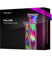 Psy LSD video mapping toolkit