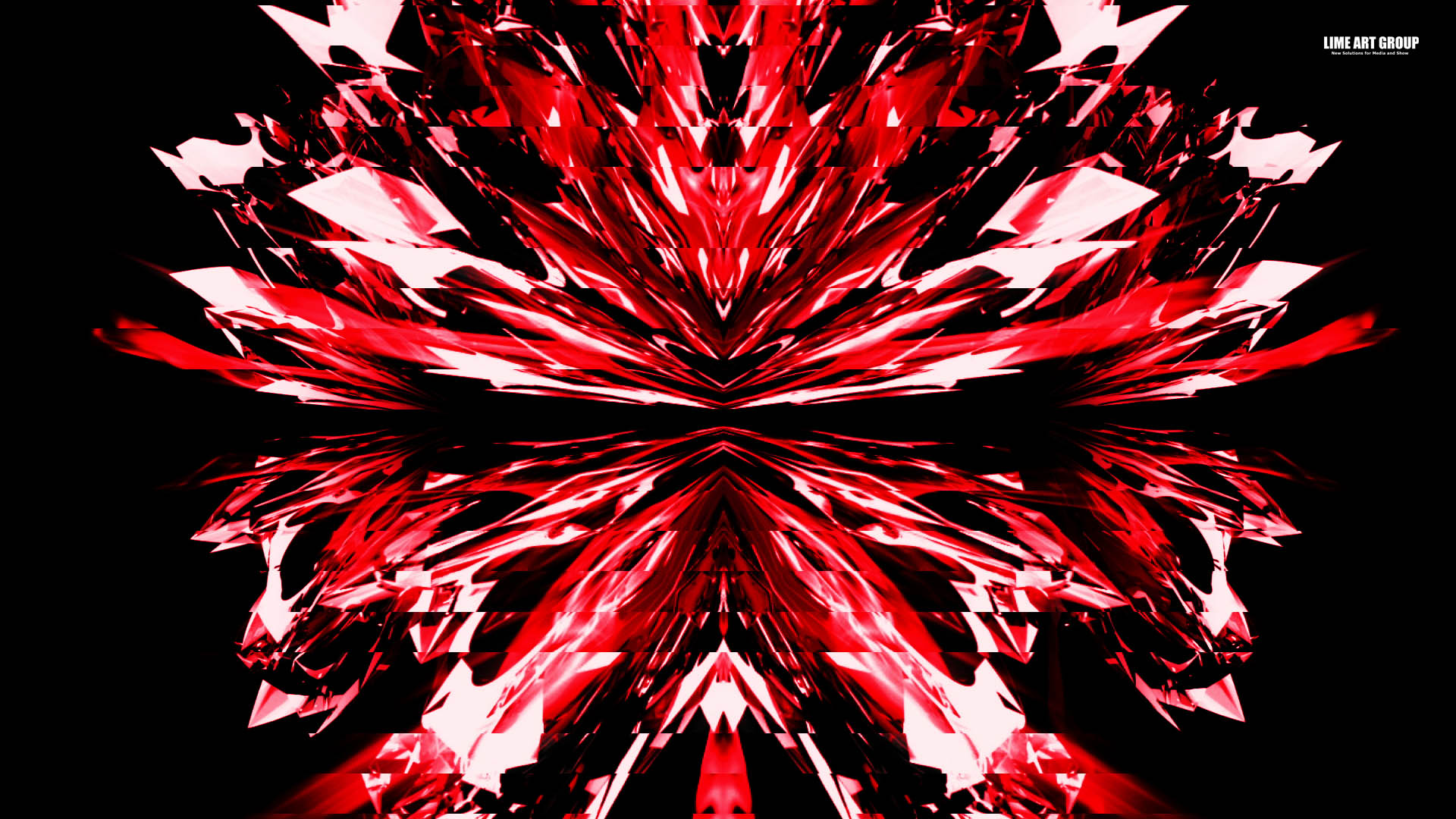 Video Loops, Red color vj loops abstract 11