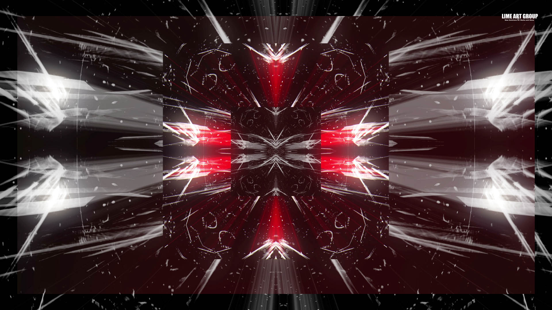 Video Loops, Red color vj loops abstract 12