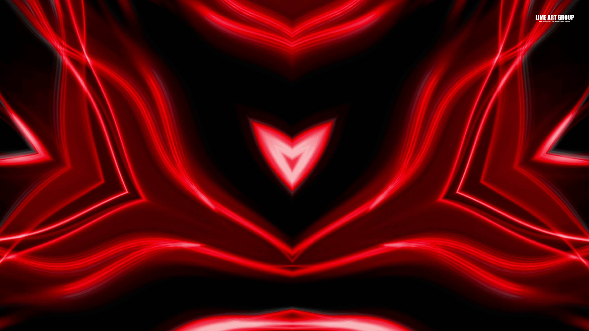 Video Loops, Red color vj loops abstract 4