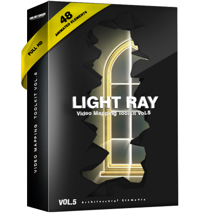 projection mapping rays light