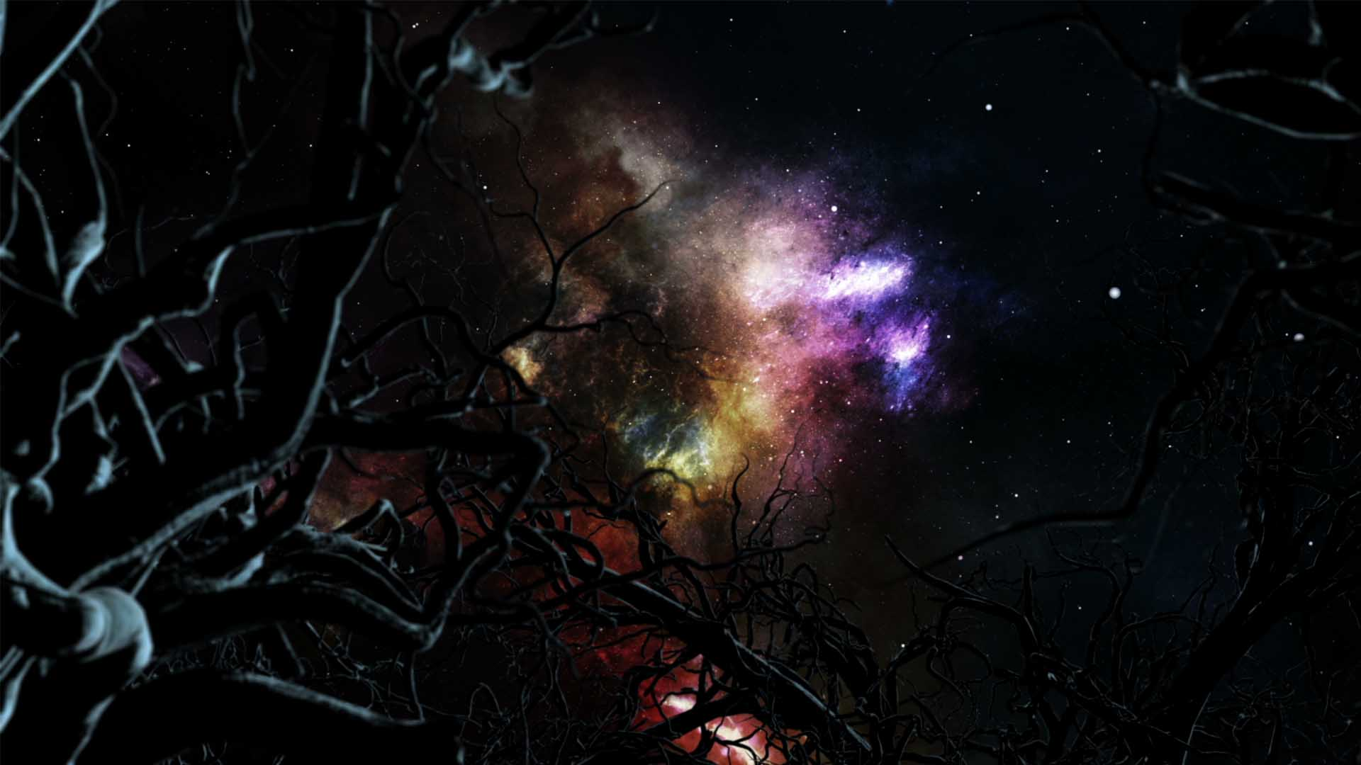 Space Sky Universe Abstract Motion Background wallpaper video HD VJ Loop