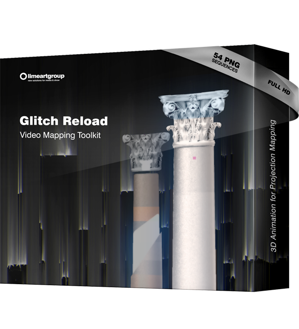 Glitch Reload video mapping projection