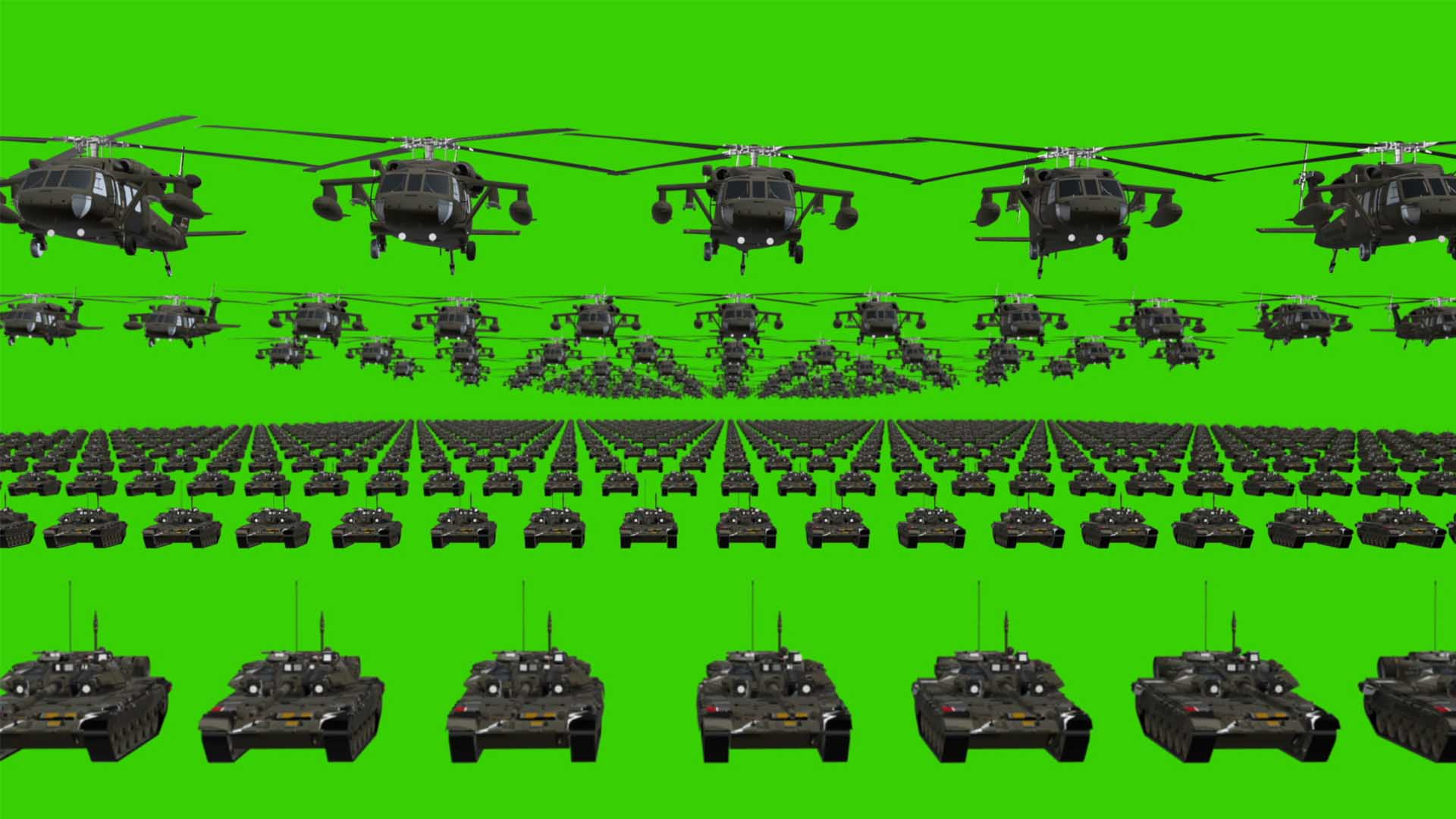 Grand_Army_Warrior_on_Flag_National_Video_Background_3D_Vj_loop green screen