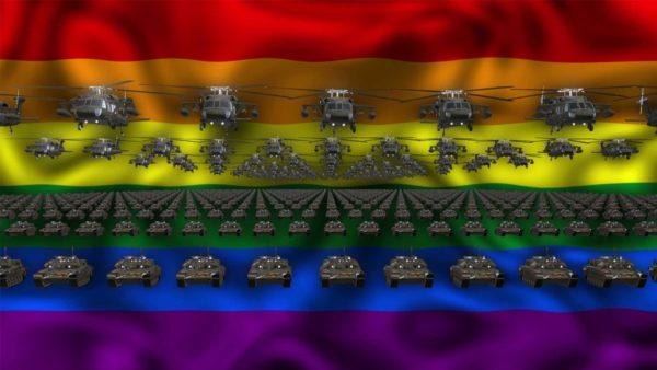 LGBT ideo background vj loop