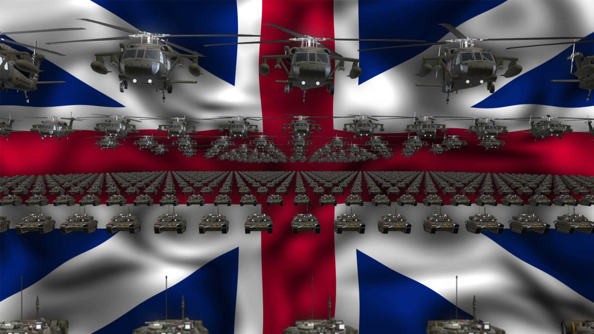 United Kingdom ideo background vj loop
