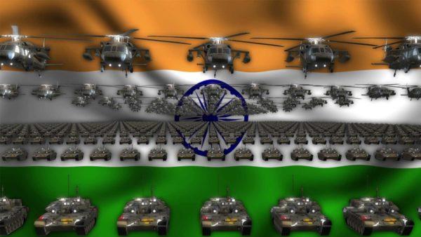 India ideo background vj loop
